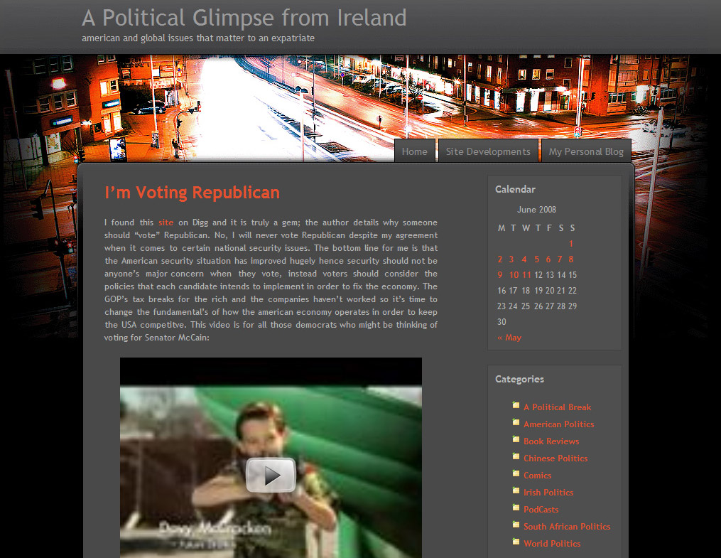 I'm Voting Republican - a film by Synthetic Human Pictures